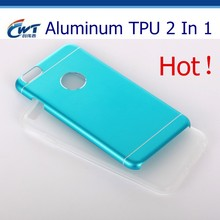 Gadgets hot selling aluminum TPU 2 in 1 mobile phone case material for iphone 5