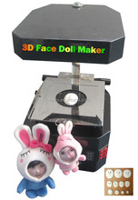 Newest model stable quality DIY 3d face doll making machine for making doll molds