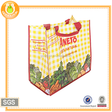 Chinese factory woven fabric shopping bag
