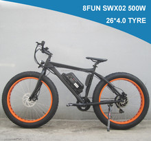 """2015 new 26""""x 4.0 electric fat bike electric beach bike riding on the beach or on the snow aluminum alloy frame(KCMTB016)"""