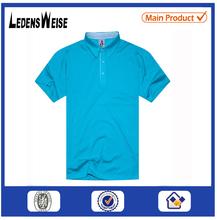 pique men style OEM emboridory 65 polyester 35 cotton t shirt
