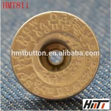 Custom jean botones con vástago
