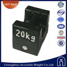 20kg cast iron weight, test weight production