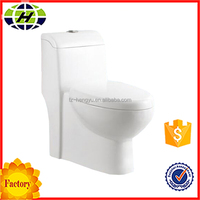 bathroom siphonic one piece ceramic western toilet price