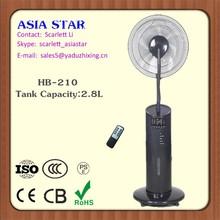 Productos electrónicos ventilador con agua aire acondicionado