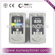 Compatible ink cartridge for Canon PG830/CL 831 for Canon IP1200/1600/2200 All-in-one MP150/170/450