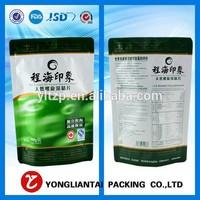 Food safe plastic flour packaging bag