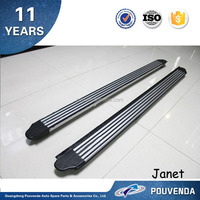 Cayenne Type Running Board with logo Car Accessories Side Step For Toyota RAV4 07+ From Pouvenda
