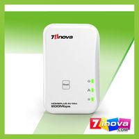 200Mbps mini home plug AV Ethernet adaptor on sale