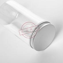 wholesale empty clear jar food grade plastic straight side 800ml pet jar