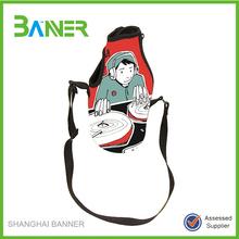 Top quality branded decorative wine bottle bag