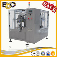 High quality high speed rotary premade Gusset Bottom Bag counting full automatic Melon Seed Carousel type package machine
