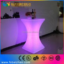 Plastic square Decorative Led Bar Table /RGB Led Cube Table Light / Square Led Bar Table