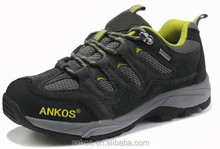 2015 hot sales men hiking shoes is suing Trekking shoe, Cross - country running outdoor casual rubber fast delivery