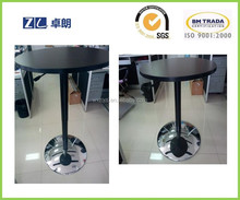 office computer side height adjust table