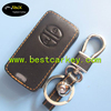 TopBest leather car key case for toyota key cover for toyota key fob case