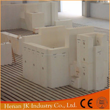 Refractory Brick Factory Fused Cast AZS insulating fire brick