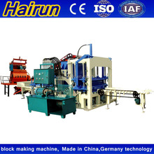 German technology QT4-20 automatic color pavers and hollow block brick making machine made in China