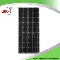 New design black 12v 100w solar panel price for home solar systems