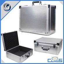 MLDGJ773 Silver Excellent Quality Electronic Equipment Box Empty Tool Chest Sturdy Aluminum Instrument Case