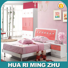 lovely children bedroom furniture design with pink color