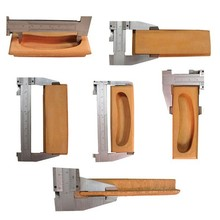 Supply custom wooden beech handles pulls for furniture in high quality