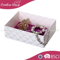 Stackable Plastic Jewelry Box, Diamond Jewelry Tray