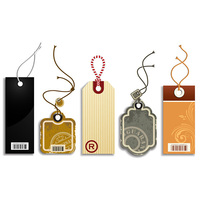 Customized Die Cutting Vintage Paper Hang Tags