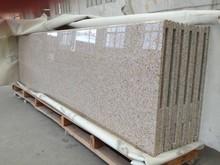 G682 golden peach solid color granite kitchen countertop price