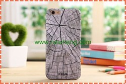 luxury wood grain shockproof soft tpu case cover for iphone6s