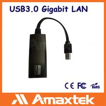 Amaxtek Support 1000Mbps Network Card Adapter USB3.0 Gigabit Lan