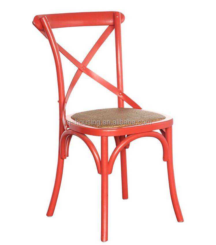 Classique pas cher croix retour manger chaise bouleau for Salle a manger bois massif pas cher