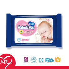 Free samples available Non-alcoholic whithout scent Cleaning Baby wet wipe tissue