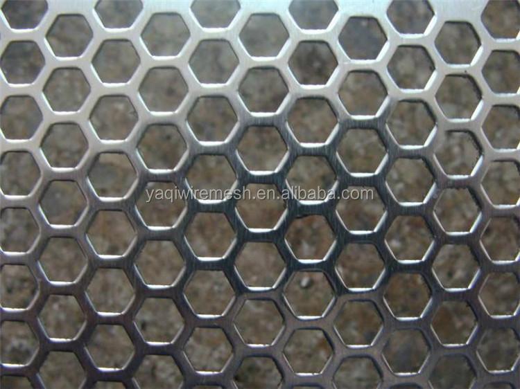 Round Aluminium Panel : High quality round hole perforated metal panel