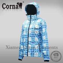 Charming design waterproof warm keeping colorful down coat