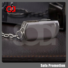 2015 most practical key chain metal usb flash drive with logo customized