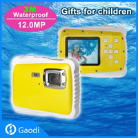 iShare Waterproof Baby Camera with 1.5-Inch LCD Screen and Super Bright Flash,KIds Digital camera