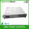 Hot Selling 48V 50Ah LiFePO4 Battery Packs for Telecom Base Station