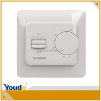 New disign room thermostat for floor heating CE E73, adjustable thermostat temperature control