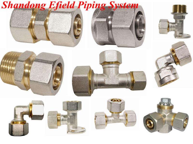 Wholesale plumbing fittings pex brass screw