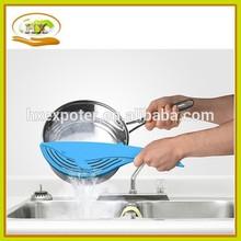 Big Blue Whale colador, colador de plástico, alta calidad herramientas de cocina