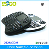 Hot sale Wireless Keyboard TouchPad for Tablet rii i8 for PC Notebook Android TV Box HTPC RII