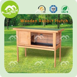 Raised Single Rabbit Hutch ,Guinea Pig cage ,Ferret Pet Cage House Run