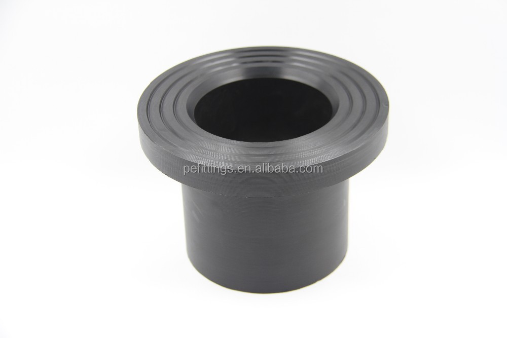 Pe fittings hdpe stub end flange adapter iso bs