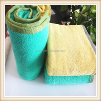 High color fastness 100% cotton active yarn dyed bath towel