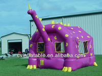 inflatable dinosaur bouncer