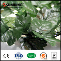 2015 welcome cheap artificial bamboo leaves fences for garden