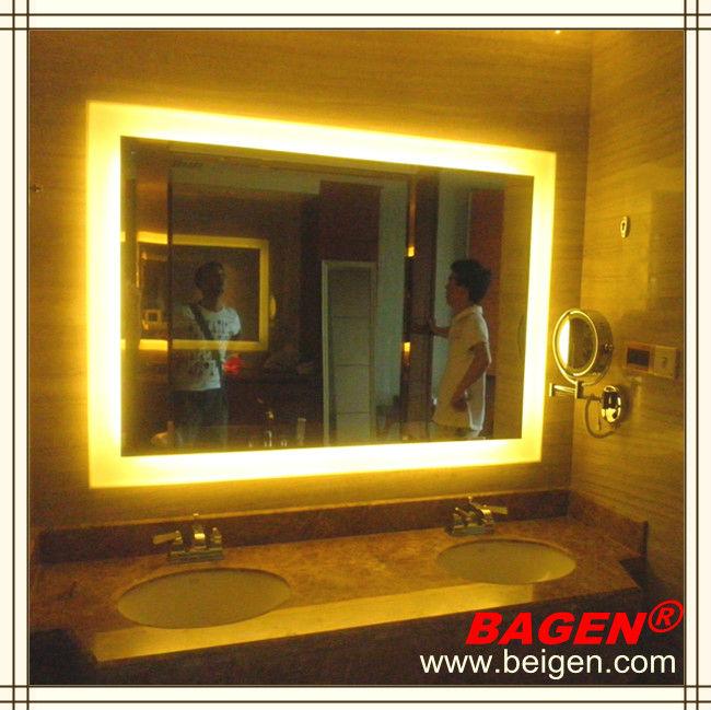 고급 호텔 가구 욕실 주도 조명 거울, 화장대 거울, 16 년 공급 ...