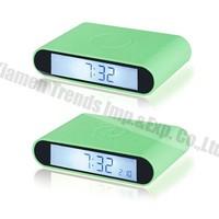 led digital flip alarm clock double side clock