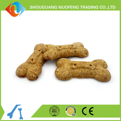 NFBS-17 dog cookie chicken biscuit with millet(carroy) in bone shape pet food